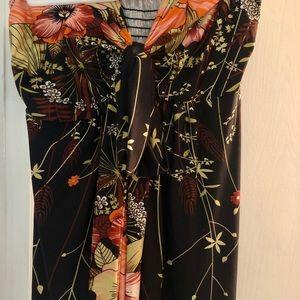 Beautiful, Strapless long dress